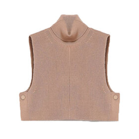 Sportmax Code - Knitted Waistcoat Camel