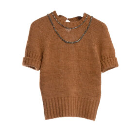 No 21 - Roundneck Knitted brown
