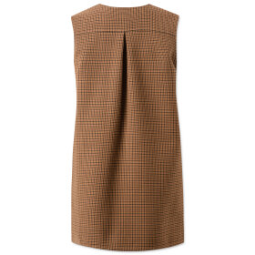 lovechild-1979- - Petrina Checkered Wool Brown