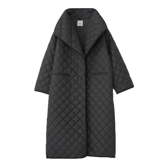 Toteme - Annecy Padded Coat Black
