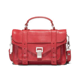 Proenza Schouler - PS1 Tiny Lux Leather Bag Flame