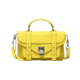 Proenza Schouler Tiny Lux Leather Bag Yellow - Nuécph.com