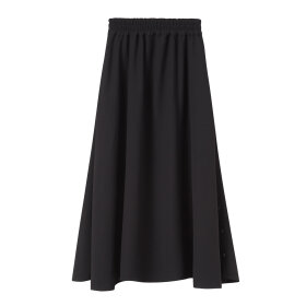 Mark Tan - Nicoleta Crepe Skirt Black