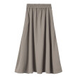 Mark Tan - Nicoleta Crepe Skirt Dusty Haz