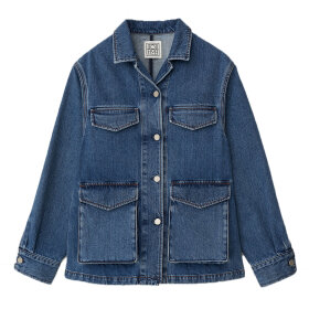 Toteme - Army Denim Jacket Washed Blue