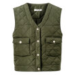 nué notes - Gianna Quilted Outerwear Army