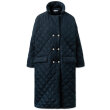 nué notes - Robyn Quilted Outerwear Navy