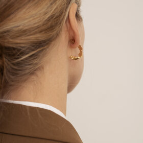 Lea Hoyer - Lyra earring gold