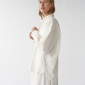 AF Agger - Heavy Flannel Oversize white