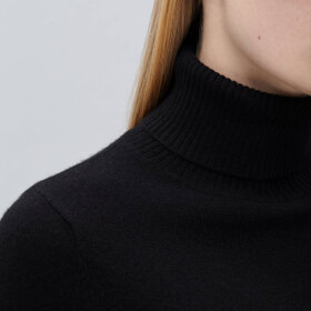 Peoples republic of cashmere - Womens turtleneck black NP