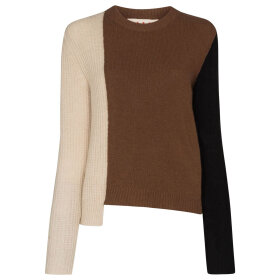 Marni - Sweater L/S Crew Neck Brown/Be