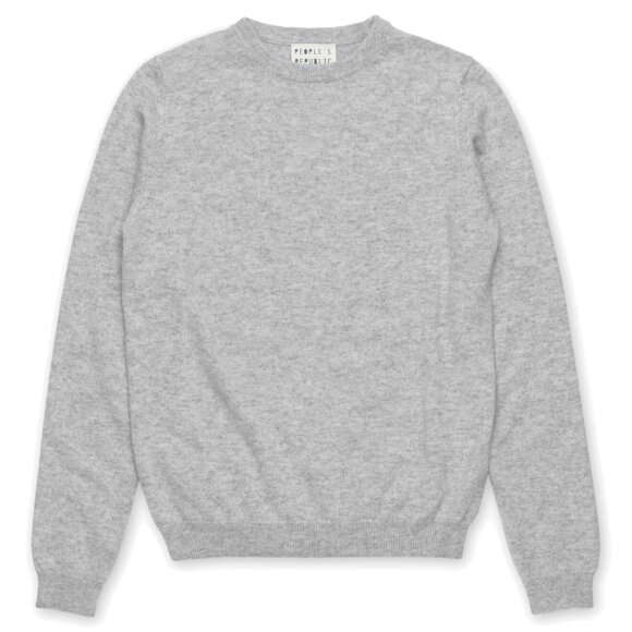 Peoples republic of cashmere - Womens Roundneck Ash Grey