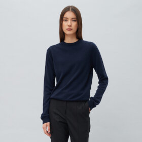 Peoples republic of cashmere - Womens Roundneck Navy