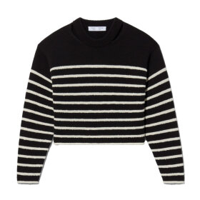 Proenza Schouler White Label - Stripe Sweater Black/Off White