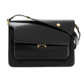 Marni - Trunk Bag Medium Shiny Black