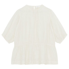 Skall Studio - Lucca Blouse White/Beige Check