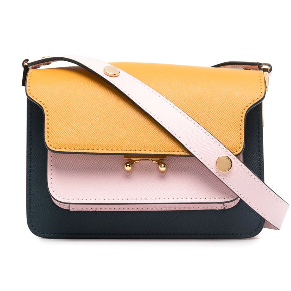 Marni - Trunk Bag Yellow/Pink/Navy