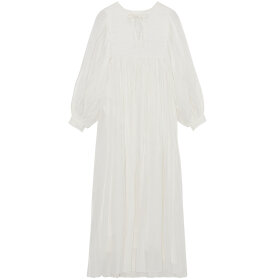 Skall Studio - Nadja Dress Off White