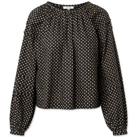 nué notes - Lenna Blouse black