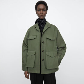 Toteme - Army Jacket Olive