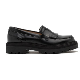 Garment Project - Spike Loafer Black