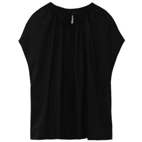 Toteme - Draped Tunic Blouse Black