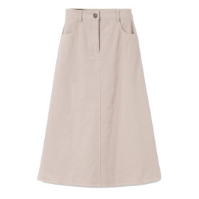 Mark Tan - Nita Denim Skirt Grey