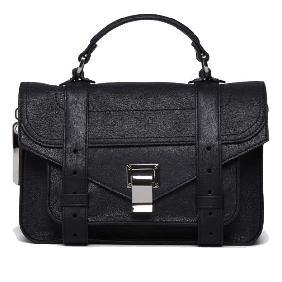 Proenza Schouler - PS1 Tiny Lux Leather Black