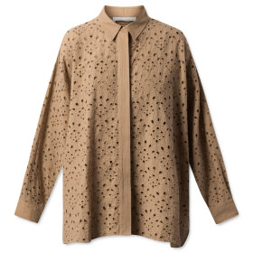 nué notes - Woody shirt Sand