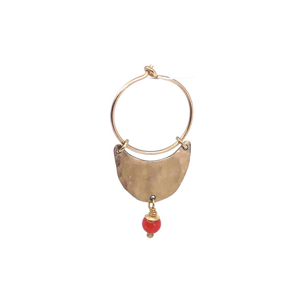 Leleah - Ane Earring Red Coral