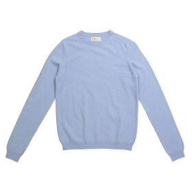 Peoples republic of cashmere - Womens Roundneck Light Blue