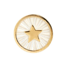 Maria Black - Guidance Coin Ivory gold