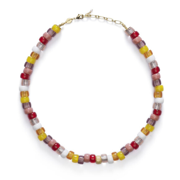Anni Lu - Poolside Tipsy Necklace Gold