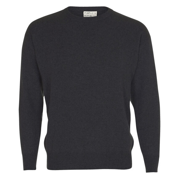 Peoples republic of cashmere - Original Roundneck Dark Grey
