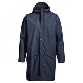 Rains - Long Jacket, blue