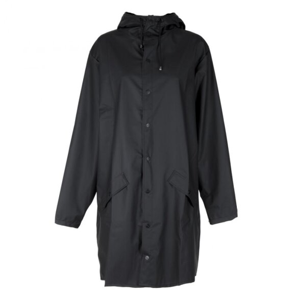 Rains - Long Jacket, black