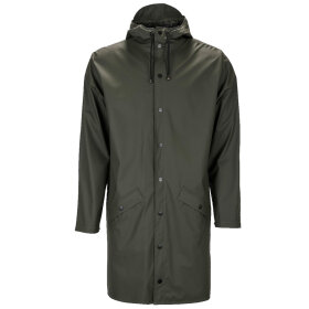 Rains - Long jacket, green